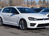 This turbocharged Oryx White 2017 Golf R comes with