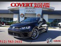Drive home today in this sleek 2017 Volkswagen Golf R