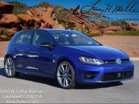 This turbocharged Lapiz Blue 2017 Golf R comes with