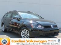 2017 Volkswagen Golf SportWagen S, Certified,  1 Owner