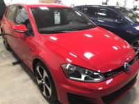 Here is the hottest car out there. 2017 VW GTI in what