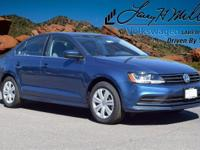 This turbocharged Silk Blue 2017 Jetta S with Cold