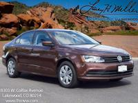 This turbocharged Dark Bronze 2017 Jetta S comes with