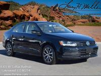 This turbocharged Black 2017 Jetta SE comes with