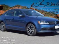 This turbocharged Silk Blue 2017 Jetta SE comes with