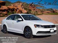 This turbocharged Pure White 2017 Jetta SE comes with