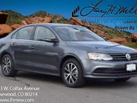 This turbocharged Platinum Gray 2017 Jetta SE comes