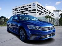 The 2017 Volkswagen Passat has balanced proportions and