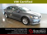 ***VW Certified***New Price! CARFAX One-Owner. Clean