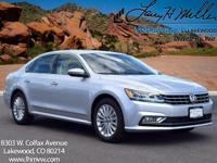 This turbocharged Reflex Silver 2017 Passat SE with