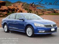 This turbocharged Reef Blue 2017 Passat SE with