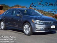 This turbocharged Platinum Gray 2017 Passat SE with