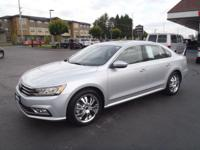 Treat yourself to this 2017 Volkswagen Passat 1.8T SE,