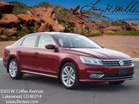 This turbocharged Fortana Red 2017 Passat SEL Premium
