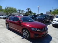 VW Certified Preowned. 2017 VW Passat R-LINE with