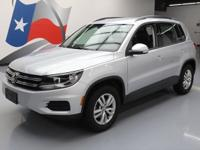 2017 Volkswagen Tiguan with 2.0L Turbocharged I4