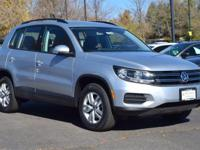 This turbocharged Reflex Silver 2017 Tiguan S comes