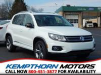 The Tiguan is everything you want in a compact SUV and