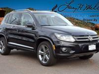 This turbocharged Black 2017 Tiguan Sport comes with