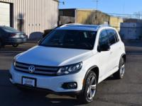 Sharp Tiguan with a beautiful Panoramic roof. Features