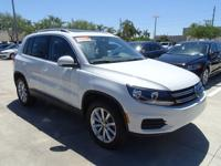 VW Certified Preowned. Nice 2017 VW Tiguan Wolfsburg