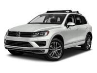 Clean CARFAX. 2017 Volkswagen Touareg V6 4Motion AWD