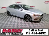Luxurious and sporty 2014 Volvo S60 T5 Dynamic w/