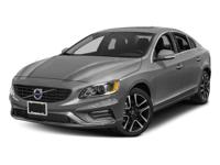 Silver 2017 Volvo S60 T5 Dynamic FWD Automatic with
