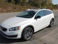 2017 White Volvo V60 Cross Country T5 New Price! AWD,