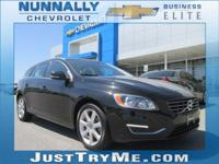 CARFAX One-Owner. Clean CARFAX. Black 2017 Volvo V60 T5