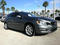 Magic Blue Metallic 2017 Volvo V60 T5 Premier FWD
