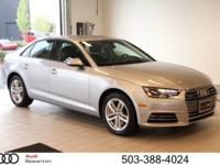 This outstanding example of a 2017 Audi A4 Premium is
