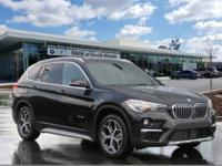 Jet Black 2017 BMW X1 xDrive28i AWD 8-Speed Automatic