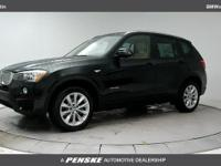 2017 BMW X3 sDrive28i 8-Speed Automatic. 28/21