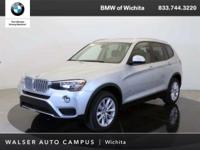 2017 BMW X3 xDrive28i located at BMW of Wichita.