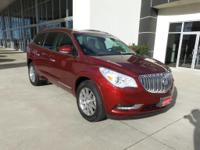 Options:  2017 Buick Enclave Leather|Fuel Consumption: