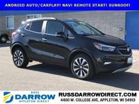 CARFAX One-Owner. 2017 Buick Encore Essence ECOTEC 1.4L