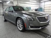 Moonstone Metallic 2017 Cadillac CT6 3.6L Luxury AWD