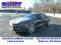 Check out this gently-used 2017 Chevrolet Camaro we