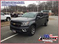 This 2017 Chevrolet Colorado Z71 4WD comes equipt with
