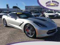 Stunning 2017 Corvette 2LT Coupe in Blade Silver with