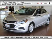 Options:  2017 Chevrolet Cruze Sedan Lt ()|Clean