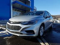 Silver 2017 Chevrolet Cruze LT FWD 6-Speed Automatic