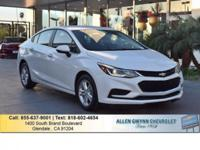 This 2017 Chevrolet Cruze LT is proudly offered by