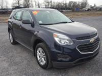 Gray 2017 Chevrolet Equinox LS FWD 6-Speed Automatic