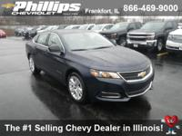 Options:  2017 Chevrolet Impala Ls W/1Ls|Blue Velvet
