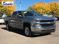 Clean CARFAX. Pepperdust Metallic 2017 Chevrolet