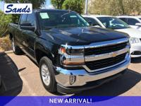 Black 2017 Chevrolet Silverado 1500 LT LT1 RWD 6-Speed