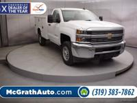 Summit White 2017 Chevrolet Silverado 2500HD 2D
