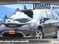 We are excited to offer this 2017 Chrysler Pacifica.